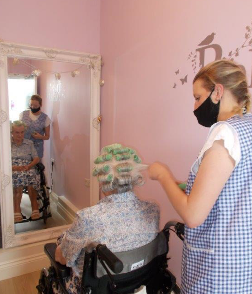 Hairdressing at H&L Estate for Random Acts of Kindness Day