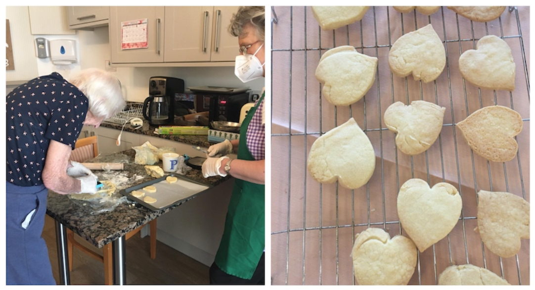 Baking sweet treats at H&L Estate for Random Acts of Kindness Day