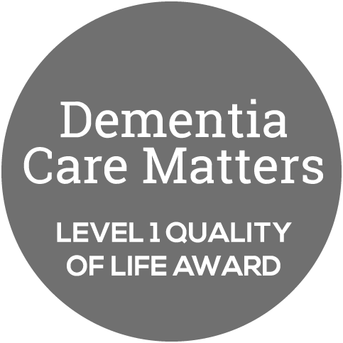 Dementia Care Matters Level 1 Quality of Life Award