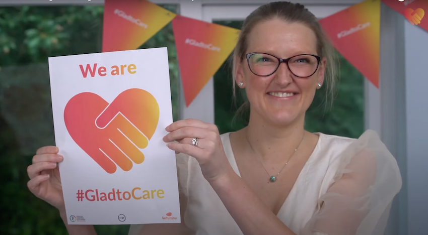 Reasons to work in care - H&L team on Glad to Care Week